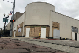 The former Perry Drug store is undergoing a $1.4 million renovation.