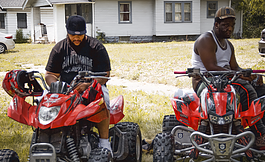 RMC Mike (left) and Rio Da Yung OG are among rap acts from Flint growing in popularity.