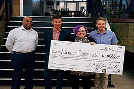 Adriane Deiulius, the owner of The Sugar Mermaid, was the first place winner of the first Pitch for $K competition in August 2019, taking home $10,000