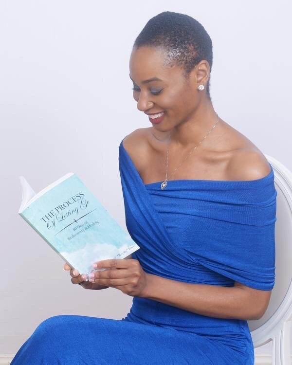"For Jeneé ""Royalty"" Price, the timing couldn't have been better to release her debut self-help book, The Process of Letting Go: 40 Days of Rediscovery and Healing."