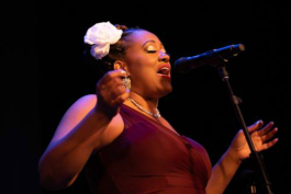 Cherisse Bradley is founder of 'I Found My Voice' advocacy program and annual performance.