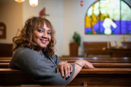Rhonda Willingham is first lady of Bristol United Methodist Church.