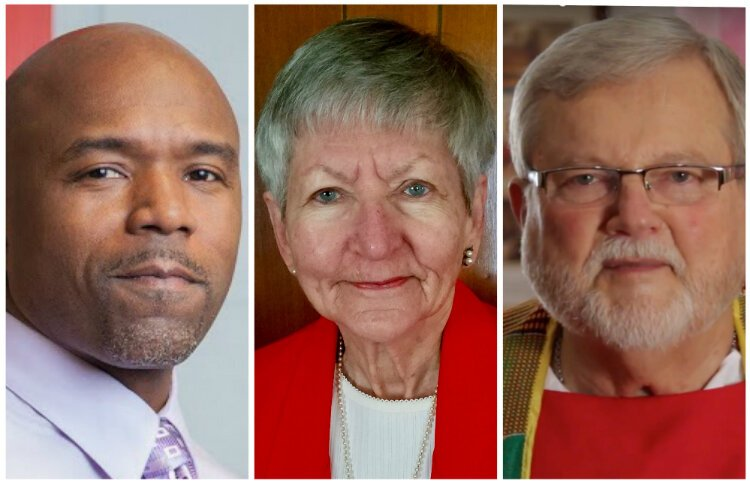 Football coach Corey Hawkins, volunteer Rhina Griffel, and Rev. Phil Schmitter will be awarded the Riegle Community Service Award on Sept. 12, 2019.