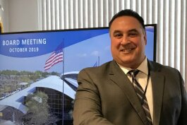 Bishop International Airport Authority board on Oct. 22, 2019, unanimously named deputy director Nino Sapone to serve as the new airport director, effective immediately.