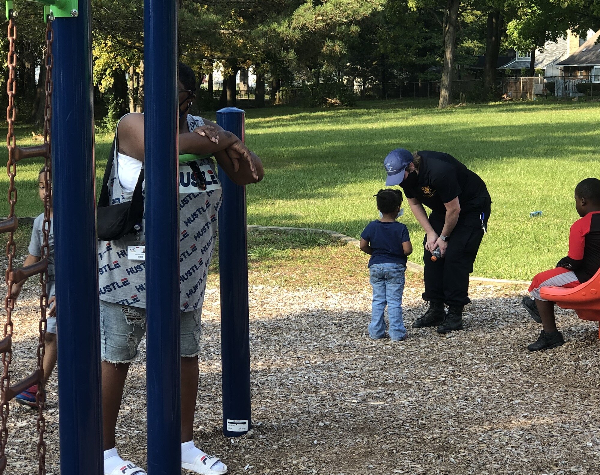 Sarvis Park's Neighborhood Association partnered with local law enforcement for a Community Day on September 25.