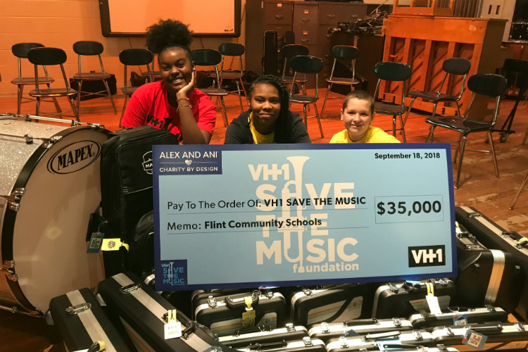 Save the Music made a $35,000 grant to Scott Middle School.