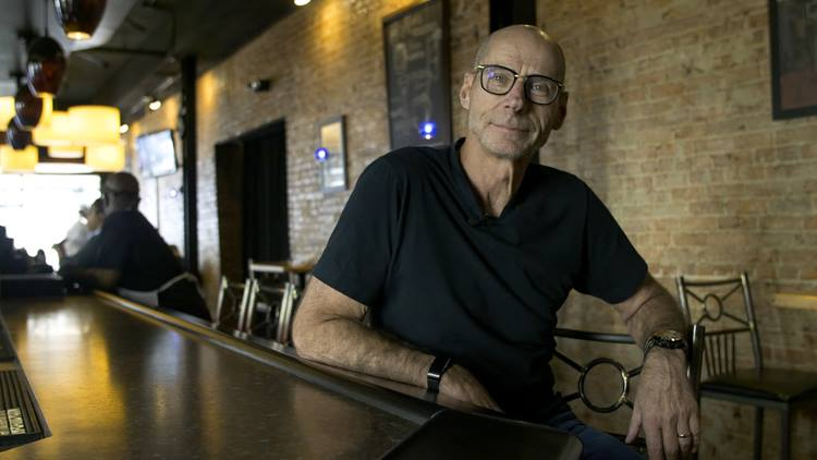 "Phil Shaltz, a downtown Flint businessman, is the executive producer of ""The Wolf Hour."" The film was accepted into the 2019 Sundance Film Festival."