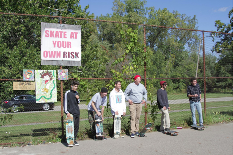 The skatepark off Hammerberg Road is Flint's only skatepark.