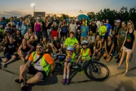 Social Cycling Flint hosts weekly evening rides in the spring, summer and fall.