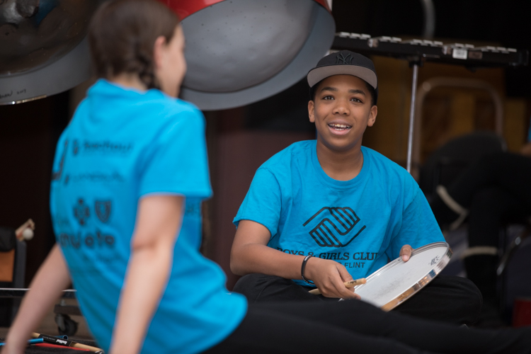 """This is the type of experience that shows them and the rest of my club members that they can do anything and they are not restricted because of where they live,"" said Tauzarri Robinson, CEO of the Boys and Girls Club of Flint."
