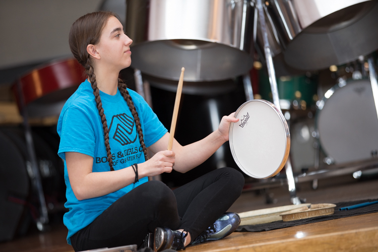 Funding for the steel drum bands at the Boys and Girls Club is provided by the Jean Simi Fund at the Community Foundation of Greater Flint.