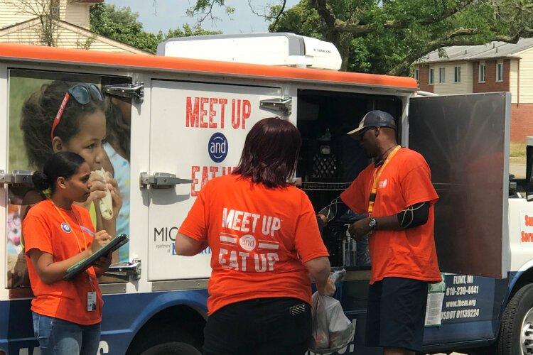 14 summer feeding program locations are mobile sites that directly serve local housing developments and apartments.