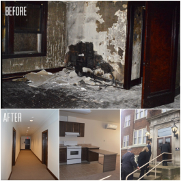 A look at the before and after of the $8.3 million renovation at Swayze Court Apartments