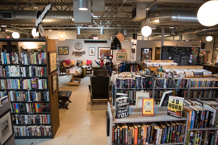 Totem Books features shelf after shelf after shelf of every genre—as well as lots of special events including book signings, open mic nights, and DJs.