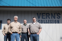 Owner Mike Herriman took over the family business from his father and now is joined by two sons and one grandson.