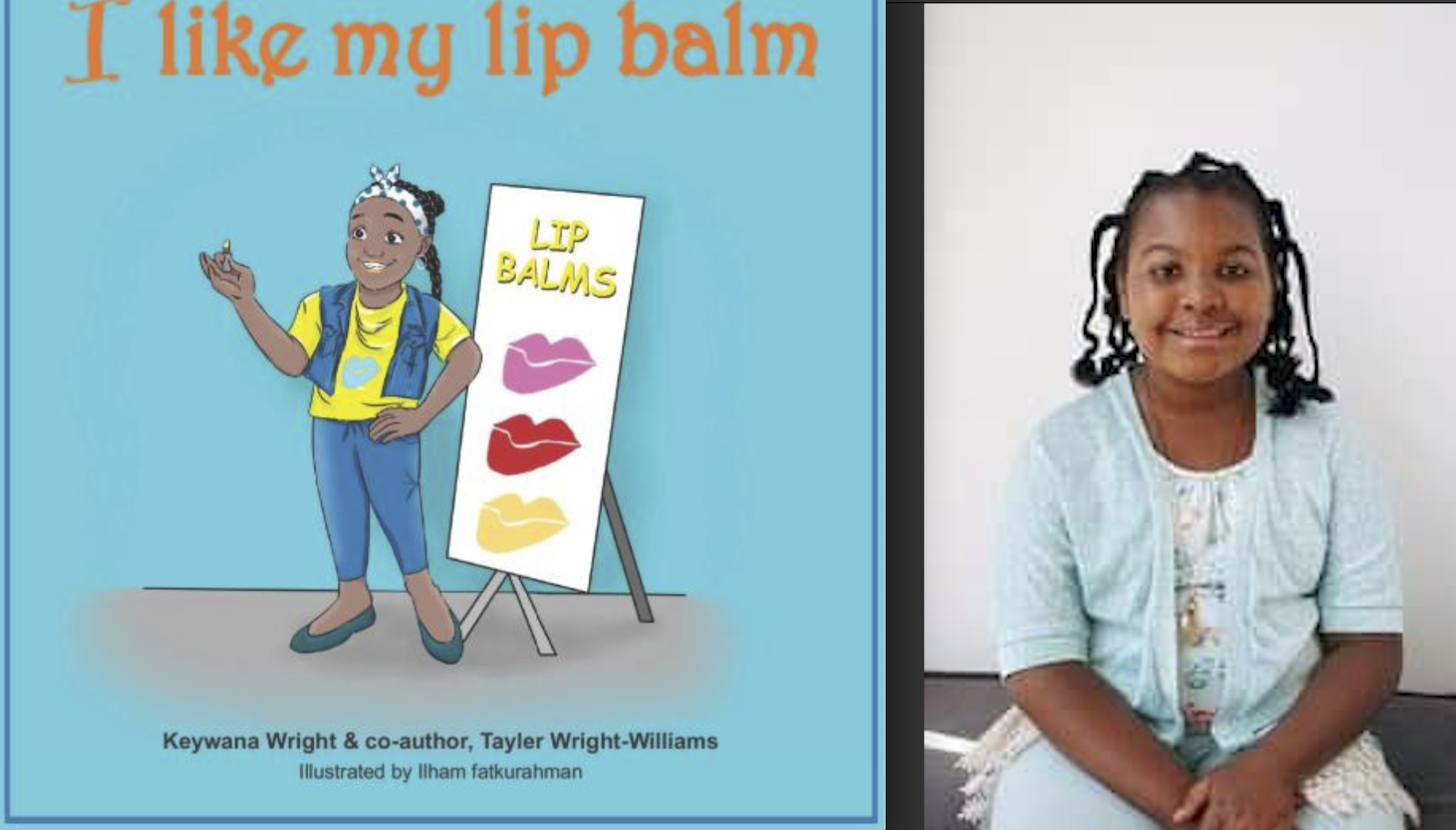 Flint native Tayler Wright-Williams published her first children's book at 10-years-old.